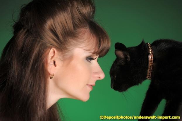 Hexe, Scharze Katze